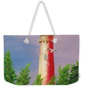 Jupiter Lighthouse - Sunburst Weekender Tote Bag