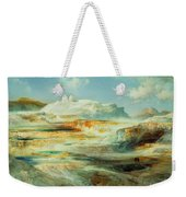 Jupiter Terrace  Yellowstone Weekender Tote Bag