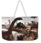 Jurassic Swamp Weekender Tote Bag