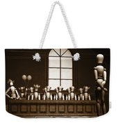 Jury Of Your Peers Weekender Tote Bag by Bob Orsillo