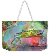 Just A Little Crabby Weekender Tote Bag