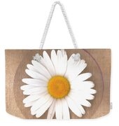 Just A Lonely Flower On Canvas Weekender Tote Bag