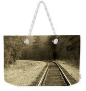 Just Around The Bend Weekender Tote Bag