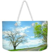 Just Around The Corner Weekender Tote Bag