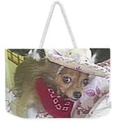 Just Because She Is A Chihuahua Weekender Tote Bag