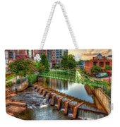Just Before Sunset Reedy River Falls Park Greenville South Carolina Art Weekender Tote Bag