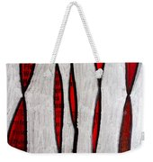 Just Bones - Ink Abstract Weekender Tote Bag