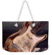 Just Broken In- Old Guitar Weekender Tote Bag