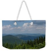 Just Climb Mountains And Breathe Deeply Weekender Tote Bag