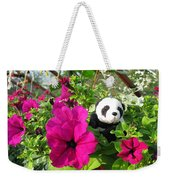 Just Hanging In There Weekender Tote Bag