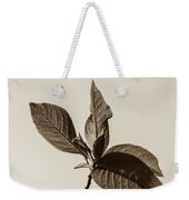 Just Leaves Weekender Tote Bag