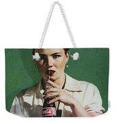 Just Like Old Times - Coca-cola Weekender Tote Bag
