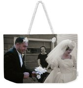 Just Married Weekender Tote Bag