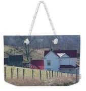 Just Over The Hill - Craig County Virginia Scenic Weekender Tote Bag