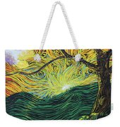 Just Over The Hill Too Weekender Tote Bag