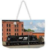 Just Plain Train Love Weekender Tote Bag