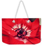 Just Red Weekender Tote Bag