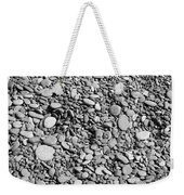 Just Rocks - Black And White Weekender Tote Bag