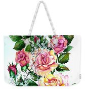 Just Roses Weekender Tote Bag