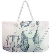 Justice Weekender Tote Bag