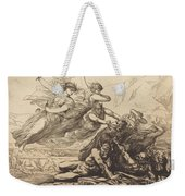 Justice, Vengeance, And Truth Weekender Tote Bag
