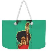 Justice Wanted Weekender Tote Bag