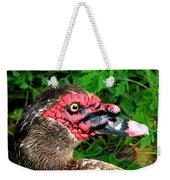 Juvenile Muscovy Duck Weekender Tote Bag