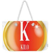 K For Kilo Weekender Tote Bag