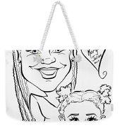 K J Weekender Tote Bag