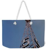 K T L A Channel 5 Weekender Tote Bag