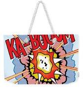 Ka-booom Weekender Tote Bag
