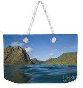 Kaaawa Valley From Ocean Weekender Tote Bag