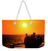 Kaanapali Beach Outrigger Sunset Weekender Tote Bag