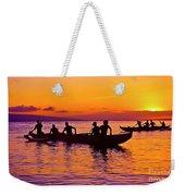 Maui Hawaii Kaanapali Outrigger Sunset Weekender Tote Bag