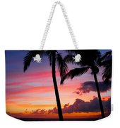 Kaanapali Sunset  Kaanapali  Maui Hawaii Weekender Tote Bag