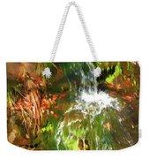 Waterfall Of Love Weekender Tote Bag