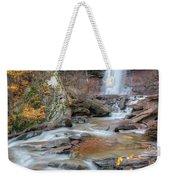 Kaaterskill Falls Autumn Portrait Weekender Tote Bag