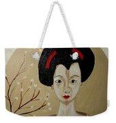 Kabuki Girl Weekender Tote Bag