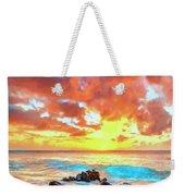 Kailua-kona Sunset Weekender Tote Bag