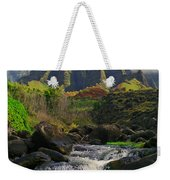Kalalau Cathedral Weekender Tote Bag