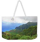 Kalalau Trail Overlook Weekender Tote Bag