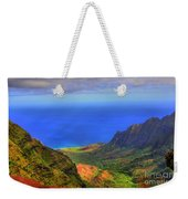 Kalalau Valley Weekender Tote Bag