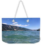 Lake Of Many Colours Weekender Tote Bag