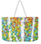 Kaleidoscope Canopy Weekender Tote Bag