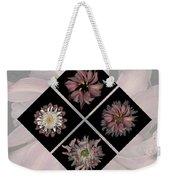 Kaleidoscope Diamond Weekender Tote Bag