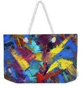 Kaleidoscopic Weekender Tote Bag