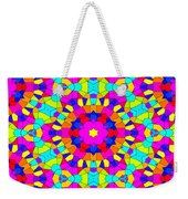 Kaleidoscopic Mosaic Weekender Tote Bag