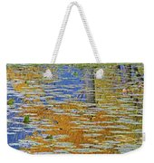 Kaloya Pond Autumn Weekender Tote Bag