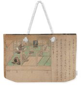 Kamakura Period    Illustrated Biography Of Hnen Shikotokden E Weekender Tote Bag