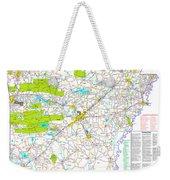 Kamkam Arkansas Highway Map  Weekender Tote Bag